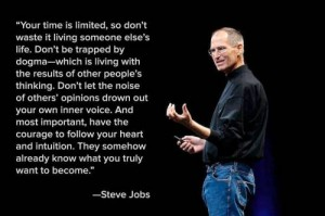 steve jobs your time is limited