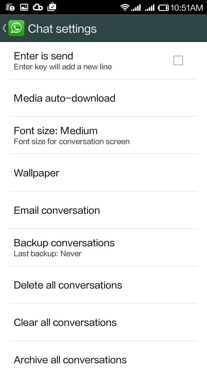 whatsapp settings tricks 1