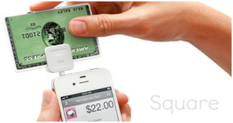 Square mobile app for mobile payment