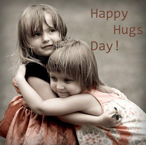 cute girls happy hug day pictures