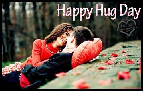 happy hug day valantines day picture