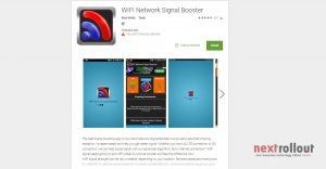 Kick Of Network Signal Problem with WIFI Network Signal Booster NextRollOut
