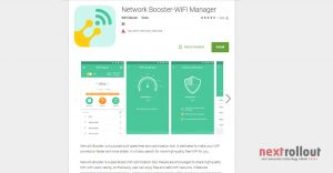 Network Booster-WiFi Manager for Network Signal Speed Booster App For Android NextRollOut