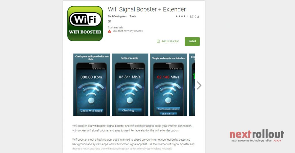 Speed Up Your Mobile Network Signal With Wifi Signal Booster Extender NextRollOut