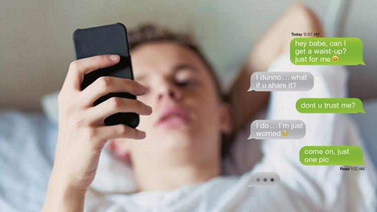 kids sexting