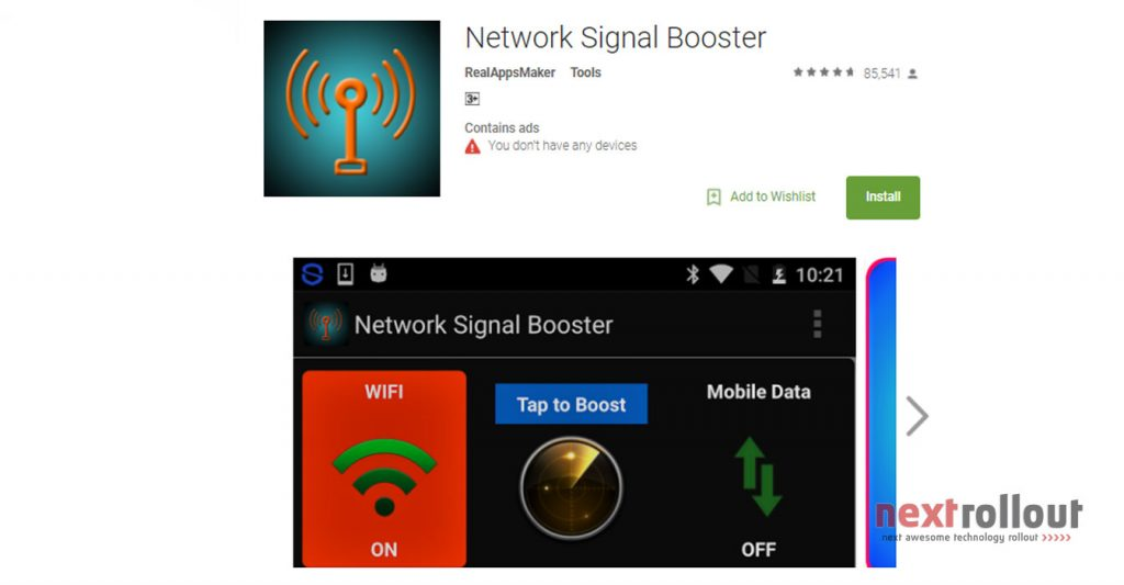 speed up your phone with network signal booster nextrollout