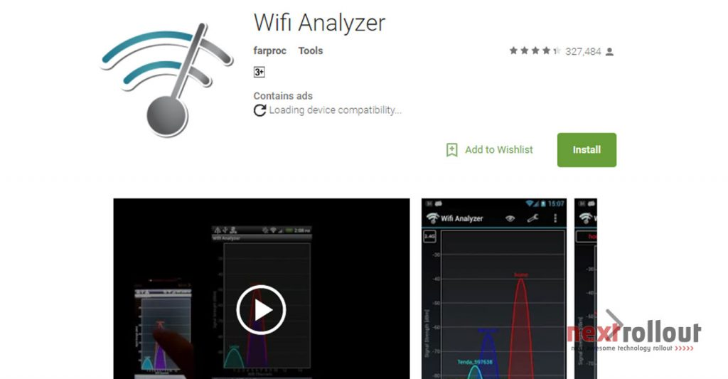 Wifi Analyzer Network Speed Booster NextRollOut