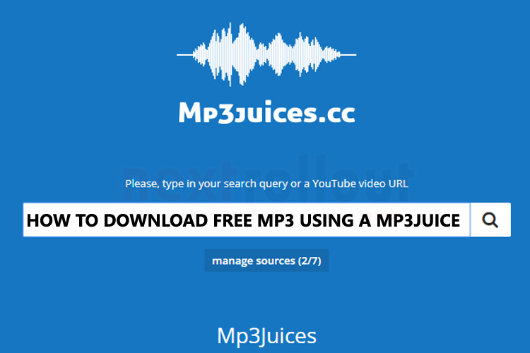 How to download free MP3 using a MP3Juice