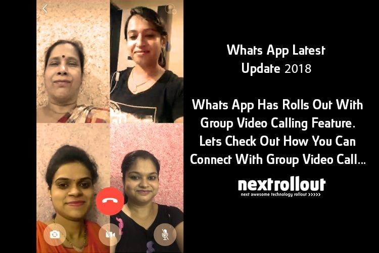 Whats App Group Video Call Feature