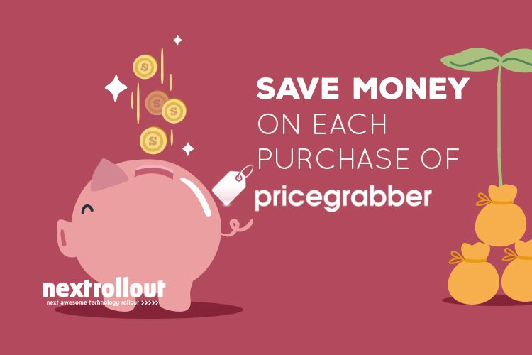 Save money on each purchase of pricegrabber
